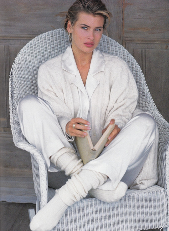 Photographer Mike Reinhardt, MODEL Daniela Pestova, ELLE US 1992