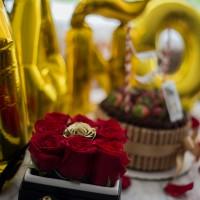 An.Madame: Aniversario ¡Torta y rosas!